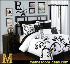 Paris Themed Bedrooms Decorating