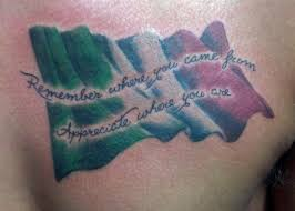No Regrets Tattoo Body Piercing Tattoos Color Italian Flag