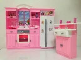 Mattel Barbie Dollhouse Furniture My Fancy Life Kitchen Play Set
