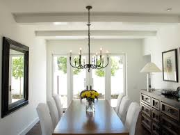 Corrugated Metal On Interior Walls Dining Room Mediterranean With Hand Forged Lighting Wrought Iron Chandelier