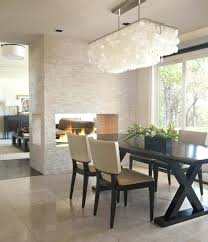 Rectangular Dining Chandelier Architecture And Home Various Rectangle Room Lighting