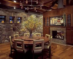 Beautiful Large Round Dining Room Tables Photos