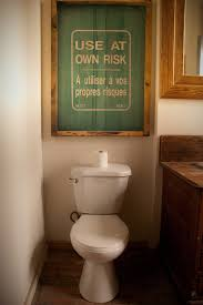 Astounding Bathroom Wall Plaques And Signs Decorating Ideas Gallery In Rustic Design