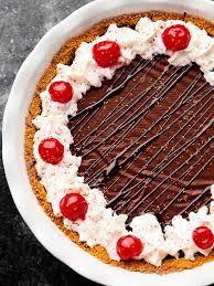 Red Wine Chocolate Pudding Pie Recipe Easy Holiday Dessert