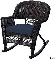 Amazon.com : Jeco Espresso Rocker Wicker Chairs With ...