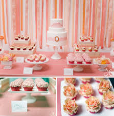 Kitchen Tea Themes Ideas by A Modern Pretty Pink Bridal Shower Bridal Showers Dessert