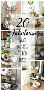 20 Fabulous Ways To Style Tiered Trays Decor For Kitchen IslandKitchen
