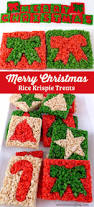 Rice Krispie Christmas Trees Recipe by Roundup 25 Christmas Rice Krispie Treats Food Craft Ideas