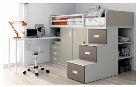 lit bureau armoire lit mezzanine avec armoire des tiroirs et un bureau acheter