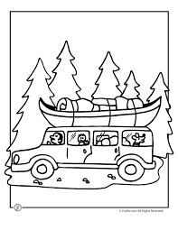 Nice Ideas Camping Coloring Pages Camp Activities