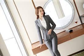2017 Professional Autumn Business Suit For Women XXXL Skirt Suits