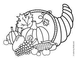 Coloring Pages For Fun Printable Native American To Print Out Adults Thanksgiving Pictures Page Happy Animals