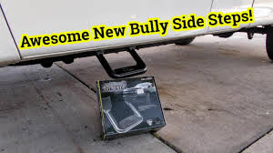 Installing Side Steps On F150 - Bully BBS 1103 Aluminum Side Step ... Carr 102521 Hoop Ii Black Alinum Steps Ford F250 Side Carr Set Of 2 New F150 Truck Super Xp3 124031 Nerf Bars Accsories Bills Ace Truckbox And Accessory Polaris Rzr Custom Silverado Chase Best Running Boards For 2015 Ram 1500 Cheap Price Nfab Predator Pro Step Finally Got A Tacoma World Install Carr Side Steps Custom Fit Super Hoop 1997 Ford F150