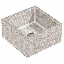 24 X 12 Palomino Tan Mop Sink 10 Bowl Depth
