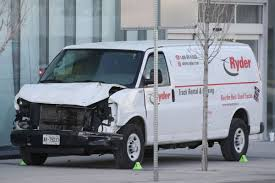 Suspect In Toronto Van Carnage Due In Court, Motive Still Unclear ... Truck Rental Ri Penske Richmond Ky Ryder Richland Wa Izodshirtsinfo Med Heavy Trucks For Sale Retriever Trained To Catch Wildlife Smugglers Nominate Your Mom Trucking Companies Va Garage Designs Door Repair Riverside Near Chantilly Best Resource Ingrated Logistics Fast Track Uhaul Ca Dump