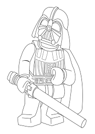Lego Star Wars Colouring Pages