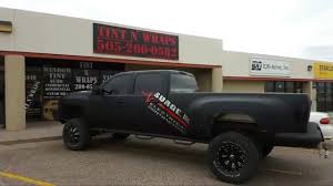 100 Cost To Wrap A Truck CHEVY 3500HD DULLY MTTE BLCK VINYL WRP YouTube