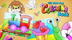 123 Kids Fun Coloring Book