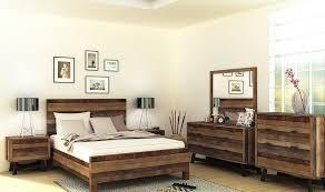 meuble chambre a coucher mobilier chambre à coucher en bois recyclé au look industriel