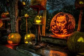 Roger Williams Pumpkin by Spectacular Jack O Lanterns Brilliantly Carved And Lit Up