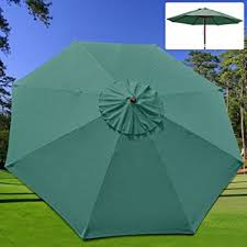 patio umbrella replacement canopy new 9 ft market patio garden umbrella replacement