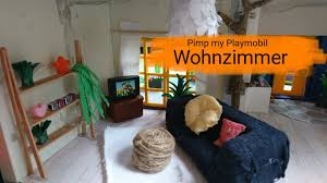pimp my playmobil wohnzimmer playmobil familie becker