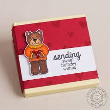 Sending My Love 4x6 Photopolymer Clear Stamps Wholesale Sunny