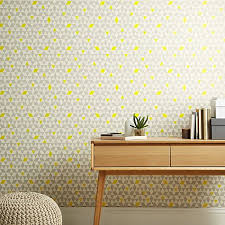 Buy House By John Lewis Triangles Wallpaper Online At Johnlewis