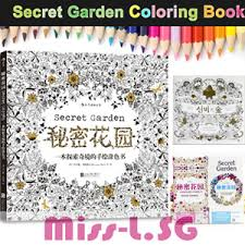 Colouring Book Secret Garden Enchanted Forest Post Card Alice In Wonderland Animal Kingdom Korean Version Chinese Available