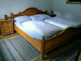 sehr gut erhaltenes landhaus schlafzimmer fichte massiv in