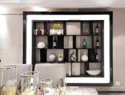 Dining Room Shelves Contemporary Style Wine On The Wall In Modern Interesting Review Table Racks Diy Built