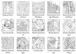 A Subset Of Maps From The Book In Thumbnail Form