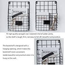wohnaccessoires deko zeitschriftenhalter wandhalterung
