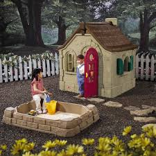 Step2 Happy Home Cottage U0026 by Step2 Naturally Playful Storybook Cottage With Patio