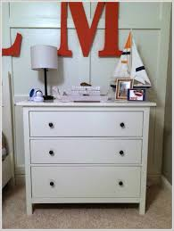 Hemnes Dresser 3 Drawer White by Hemnes 3 Drawer Chest As A Nightstand Navy Blue U0026 Orange Nautical