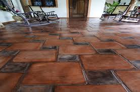 mix match pairing echo and rustico granada tile cement tile
