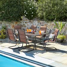 Sutton Rowe Riverton 7 Pc. Slat-Top Outdoor Dining Set Tortuga Outdoor Portside 5piece Brown Wood Frame Wicker Patio Shop Cape Coral Rectangle Alinum 7piece Ding Set By 8 Chairs That Keep Cool During Hot Summers Fding Sea Turtles 9 Piece Extendable Reviews Allmodern Rst Brands Deco 9piece Anthony Grey Teak Outdoor Ding Chair John Lewis Partners Leia Fsccertified Dark Grey Parisa Rope Temple Webster 10 Easy Pieces In Pastel Colors Gardenista The Complete Guide To Buying An Polywood Blog Hauser Stores