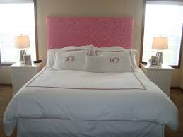 White Wooden Headboard Double by Bedroom Interesting Homemade Headboards For Creative Bedroom