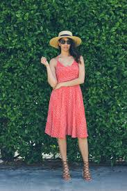 my kind of red polka dot dress lows to luxe