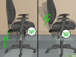 comment monter une chaise de bureau 3 ères de ajuster la hauteur de sa chaise de bureau