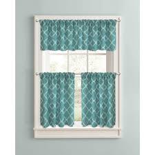 Walmart Bathroom Window Curtains by Better Homes And Gardens Trellis Valance 60