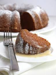 Applesauce Spice Cake with Maple Glaze