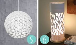 Create A 3D Modern Light Shade Out Of The Simplest Things That You Can Buy Online Or In Your Nearest Supermarket And Homewares Store Via Cutoutandkeep