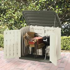 Rubbermaid Vertical Storage Shed by Rubbermaid Trash Can Shed Rubbermaid Garbage Storage Shed