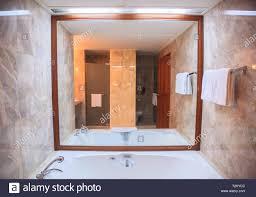100 Modern Luxury Design Hygienic Bathroom Facility Background Hotel