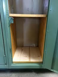 Wood Shelves Diy by Making Wooden Locker Shelves Thriftyfun