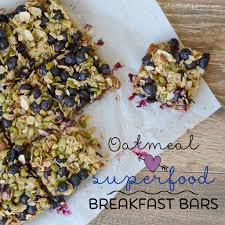 Oatmeal Superfood Breakfast Bars - A Healthy Life For Me Personal Sized Baked Oatmeal With Individual Toppings Gluten Free Best 25 Bars Ideas On Pinterest Chocolate Oat Cookies Blackberry Crumble Bars Broma Bakery The Love Bar Modern Honey Include Dried Apples Blueberries Banas Strawberry Recipe Taste Of Home Ultimate Healthy Breakfast Strong Like My Coffee With Caramel Ice Cream Topping All