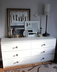 Ikea Nyvoll Dresser Grey by Vintage Mahsa Mani