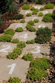 Hopscotch Garden Path ... Cute Idea For Getting Children Active ... Garden Eaging Picture Of Small Backyard Landscaping Decoration Best Elegant Front Path Ideas Uk Spectacular Designs River 25 Flagstone Path Ideas On Pinterest Lkway Define Pathyways Yard Landscape Design Ma Makeover Bbcoms House Design Housedesign Stone Outdoor Fniture Modern Diy On A Budget For How To Illuminate Your With Lighting Hgtv Garden Pea Gravel Decorative Rocks