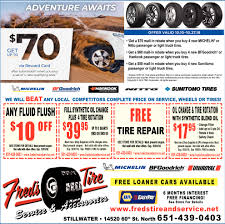 FREE Loaner Cars Available, Fred's Tire Co., Stillwater, MN New Truck Owner Tips On Off Road Tires I Should Buy Pictured My Cheap Truck Wheels And Tires Packages Best Resource Car Motor For Sale Online Brands Buy Direct From China Business Partner Wanted Tyres The Aid Cheraw Sc Tire Buyer Online Winter How To Studded Snow Medium Duty Work Info And You Can Gear Patrol Quick Find A Shop Nearby Free Delivery Tirebuyercom 631 3908894 From Roadside Care Center